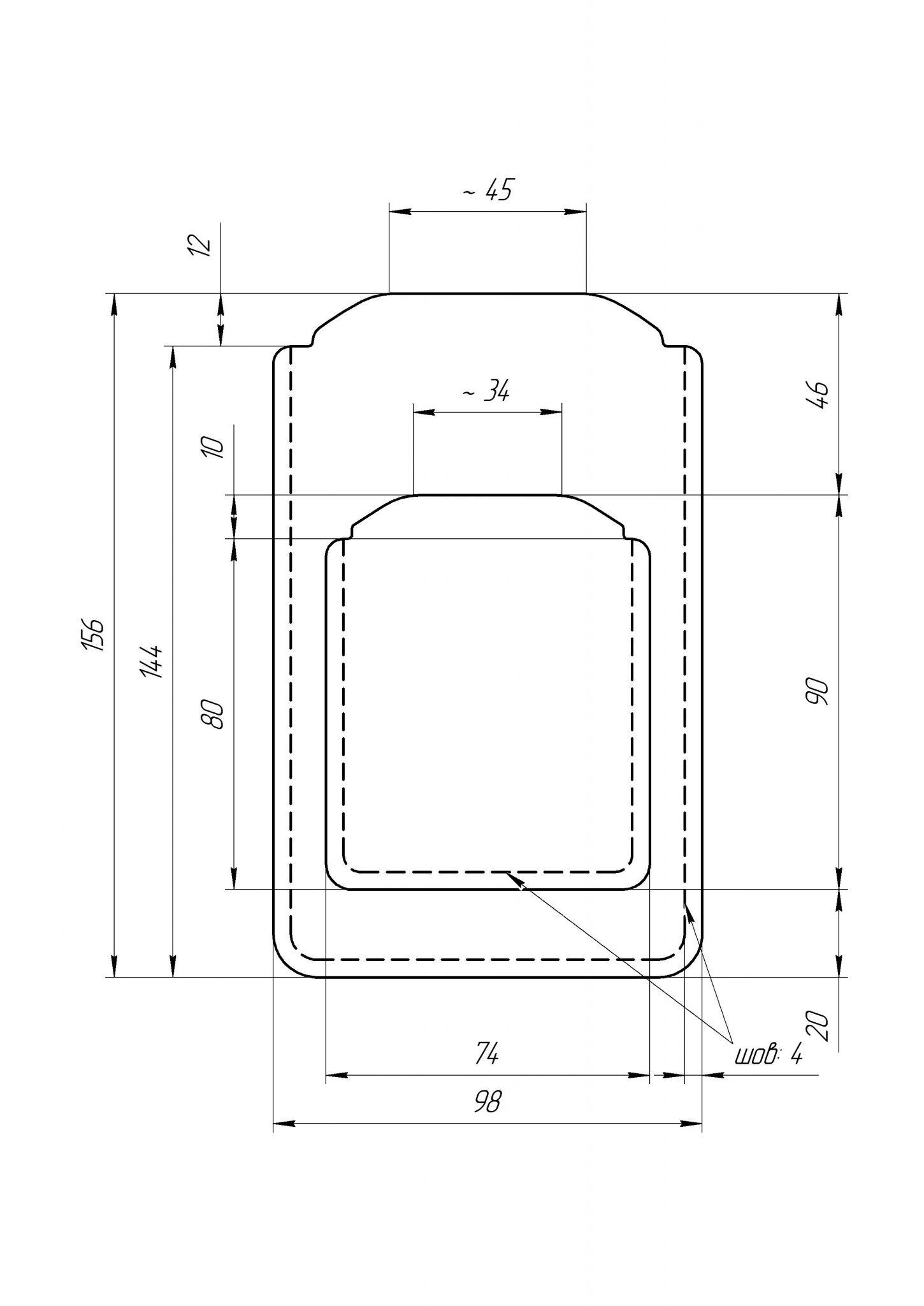 дизайн чехла для iPhone8
